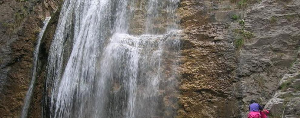 苍龙潭瀑布