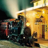 墨尔本普芬比利蒸汽小火车
