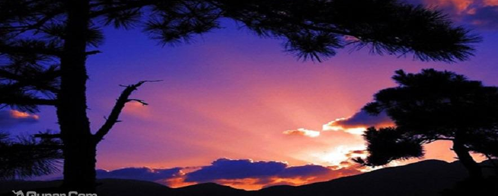 峰顶看日落