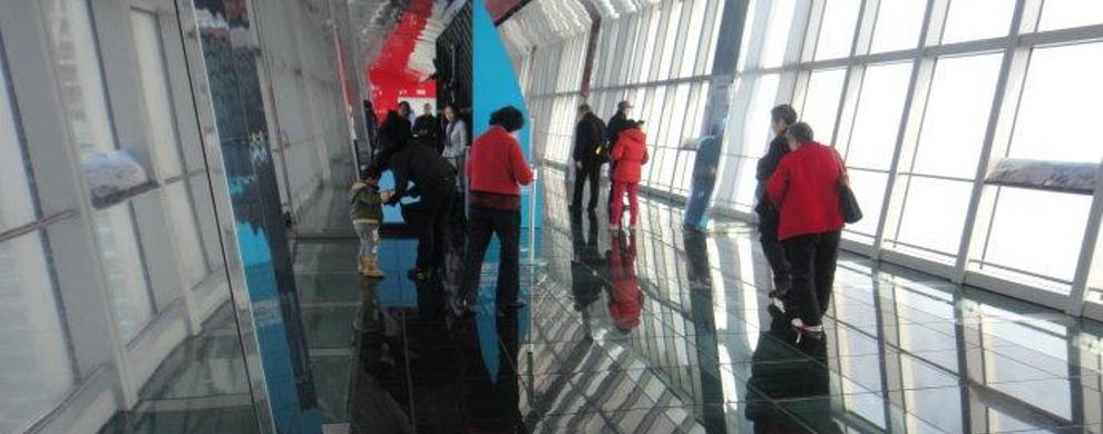 悬空观光长廊