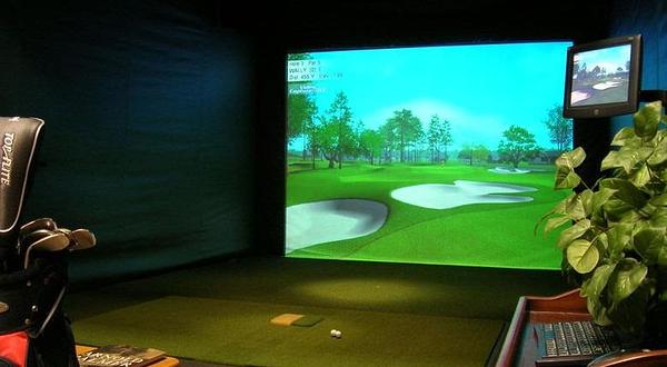 美洲豹韩泰室内高尔夫会所