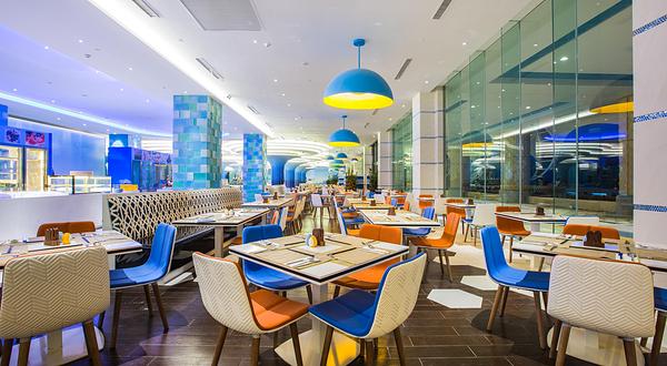 珠海长隆企鹅酒店自助餐厅