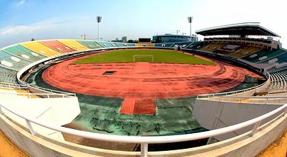 柳州体育中心位于柳州市高新技术图片