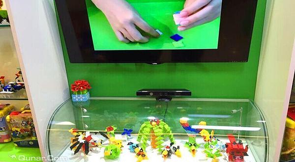 美国大树魔术积木创意玩具