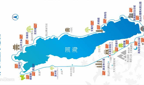 景区地址:云南省大理古城南门站环洱海公司