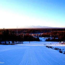 长白山和平滑雪场