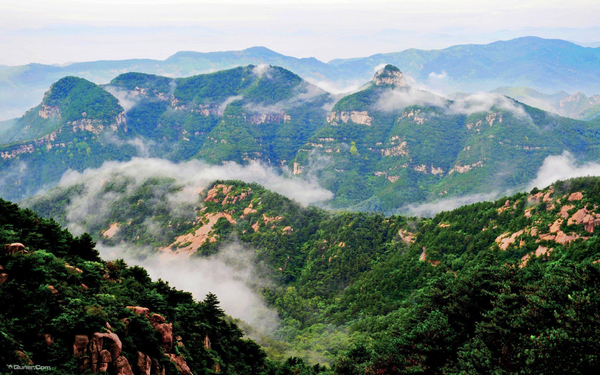 鲁山国家森林公园图片