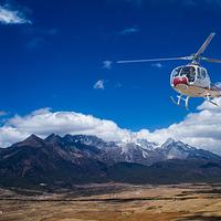 丽江直升机空中游览