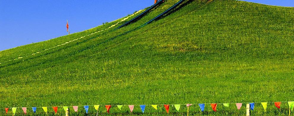 九龙滑草场