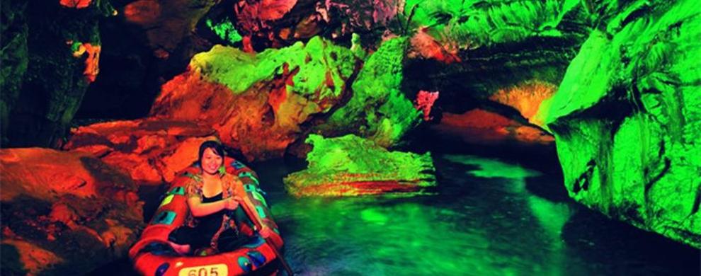 洞内的地下河