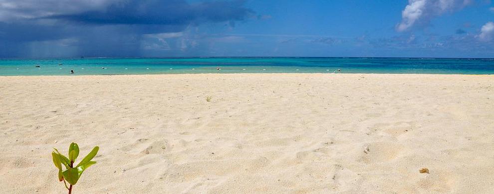 软软的沙滩