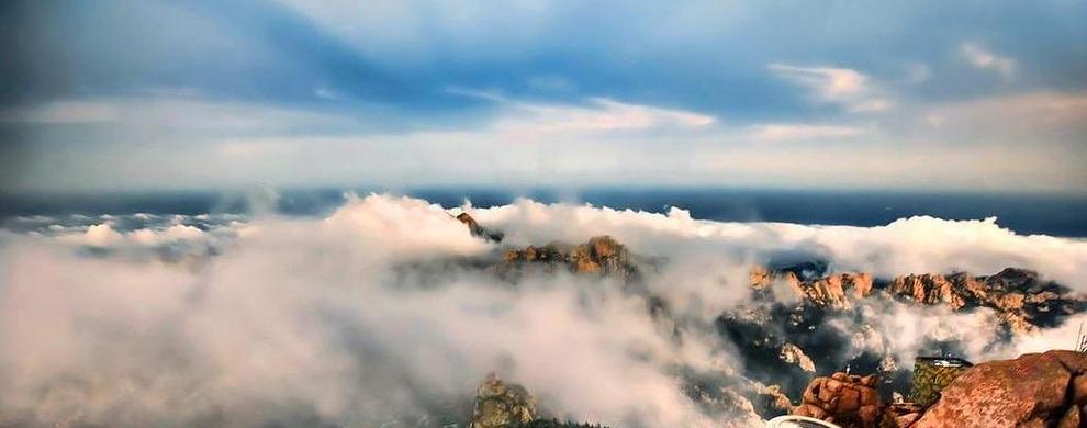 高处有意想不到的风景