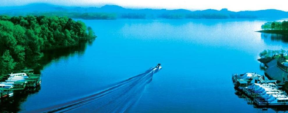 诗意南湾湖