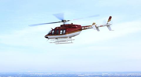 2016直升机俯瞰华丽京城
