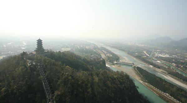 成都都江堰直升机空中游览