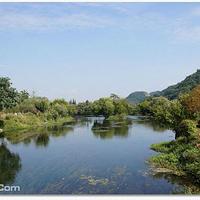 贵阳花溪国家城市湿地公园十里河滩景区