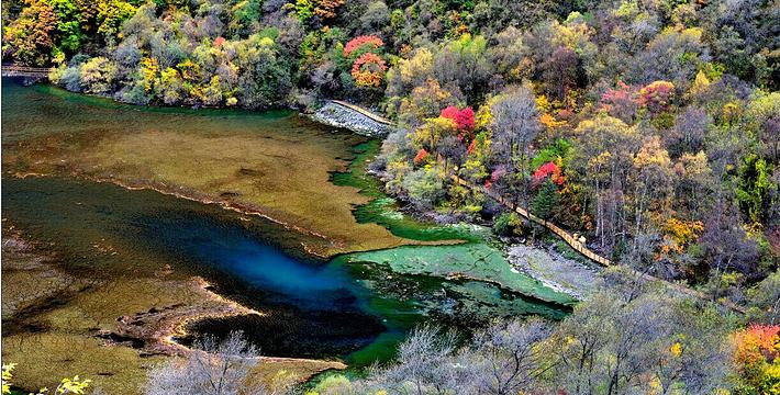 叠溪松坪沟风景区图片