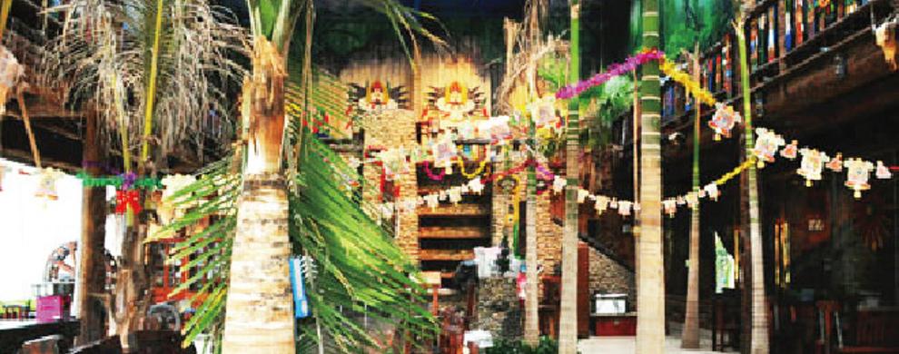 热带植物观光厅