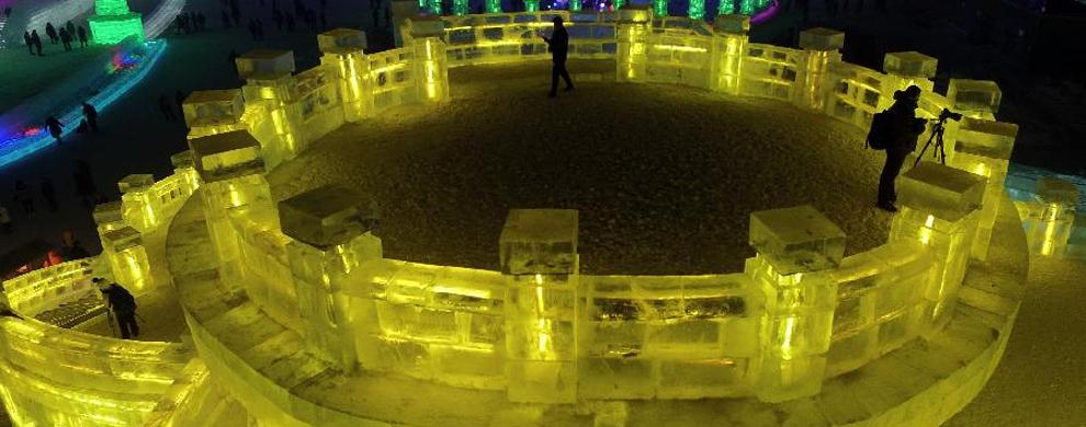 冰雪艺术大展