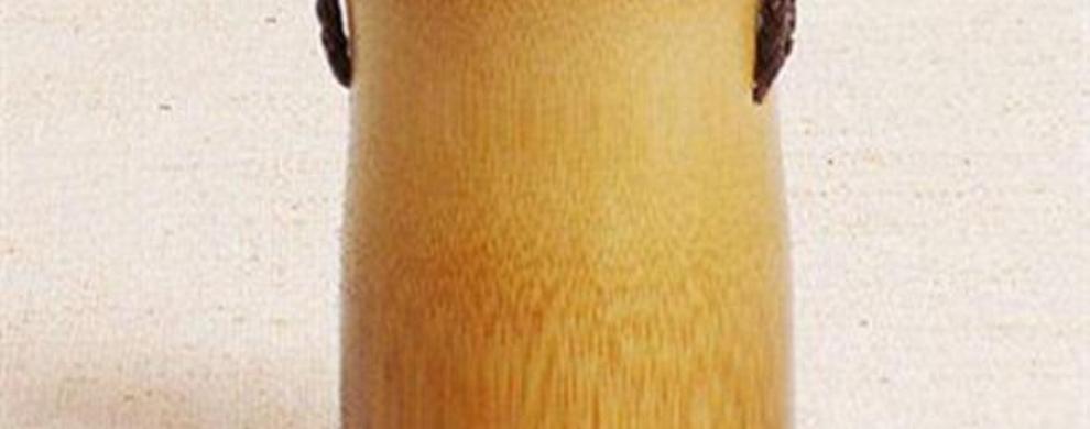 山泉水竹筒水壶