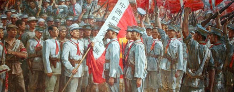 红军亭、红军桥历史复原图片