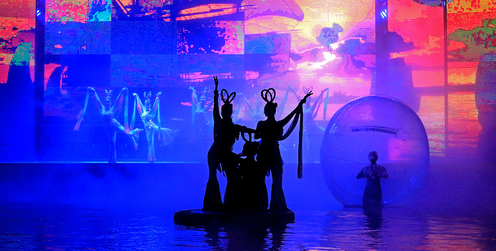 海上丝绸之路水上大剧场