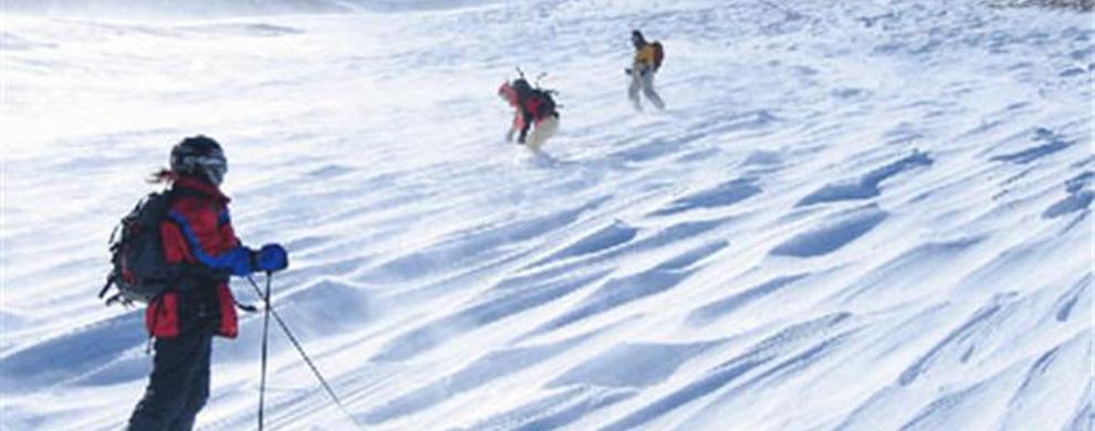 大型滑雪场