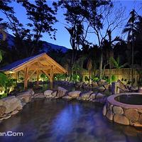 热带雨林温泉