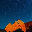 贵德国家地质公园阿什贡七彩峰丛景区