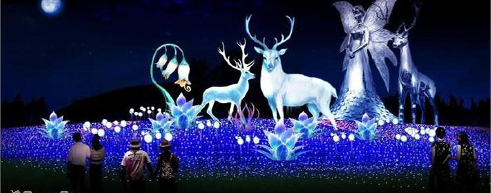 神鹿唯美图片-风景鹿图片大全,唯美的星空下鹿的图片