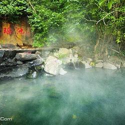七仙瑶池野溪温泉