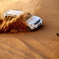 阿联酋阿布扎比沙漠冲沙