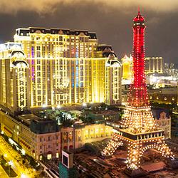 澳门巴黎铁塔观景