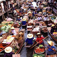 安帕瓦水上市场