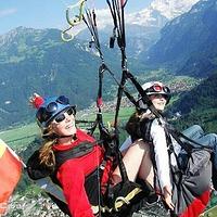 因特拉肯滑翔伞