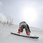 长白山天池雪滑雪场
