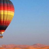 迪拜热气球飞行
