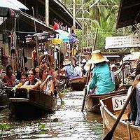 曼谷市区至丹嫩沙多水上市场接送服务