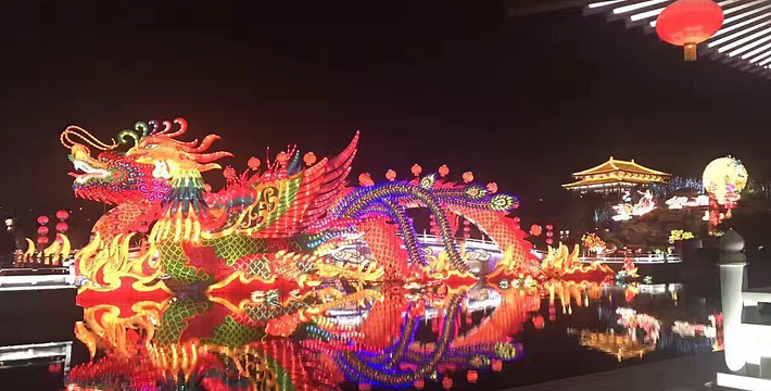 去看大唐芙蓉園燈會,拿一張燈會門票就可以進去看了嗎圖片
