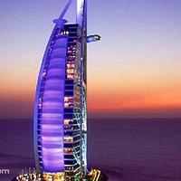 迪拜夜海游船
