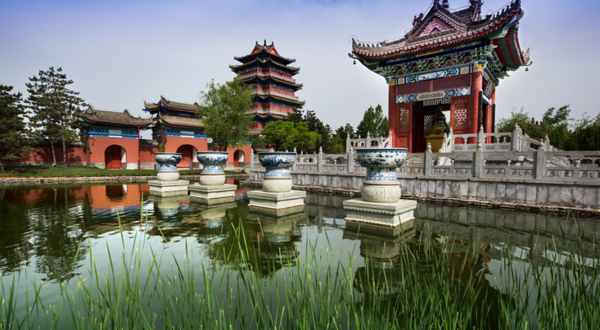 赵公明财神文化区