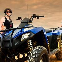 暹粒四驱摩托车单人ATV