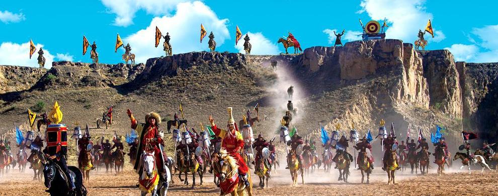 大型实景马战史诗剧《北疆天歌》