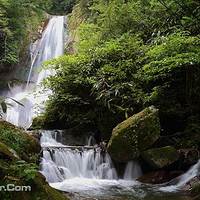 金竹瀑布景区