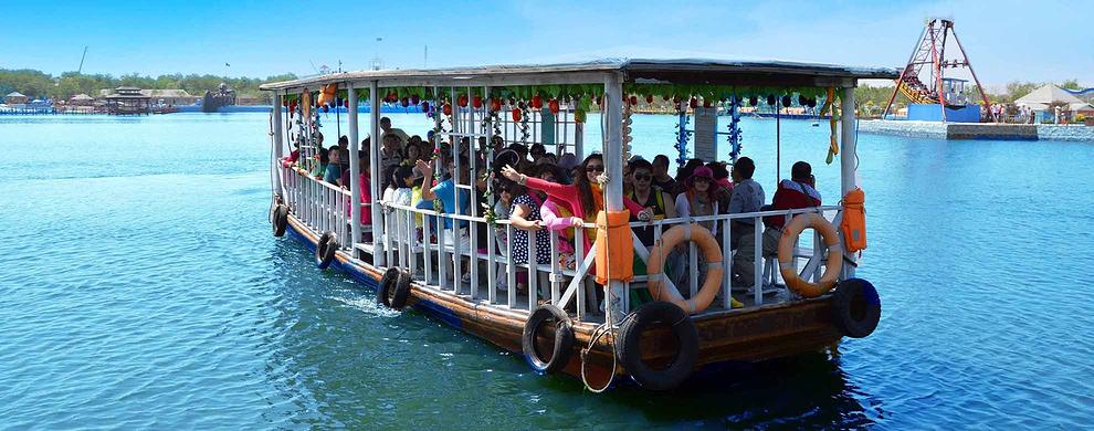 秦皇岛唯一乘船入岛的景区
