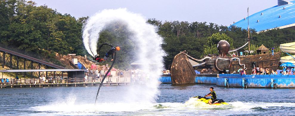 极限挑战——渔岛水上飞人