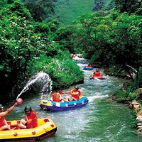 香木河漂流