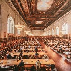 纽约公共图书馆