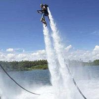 迪拜水上直立飞行