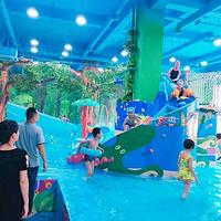 安庆青蛙泡泡室内恒温儿童水上乐园